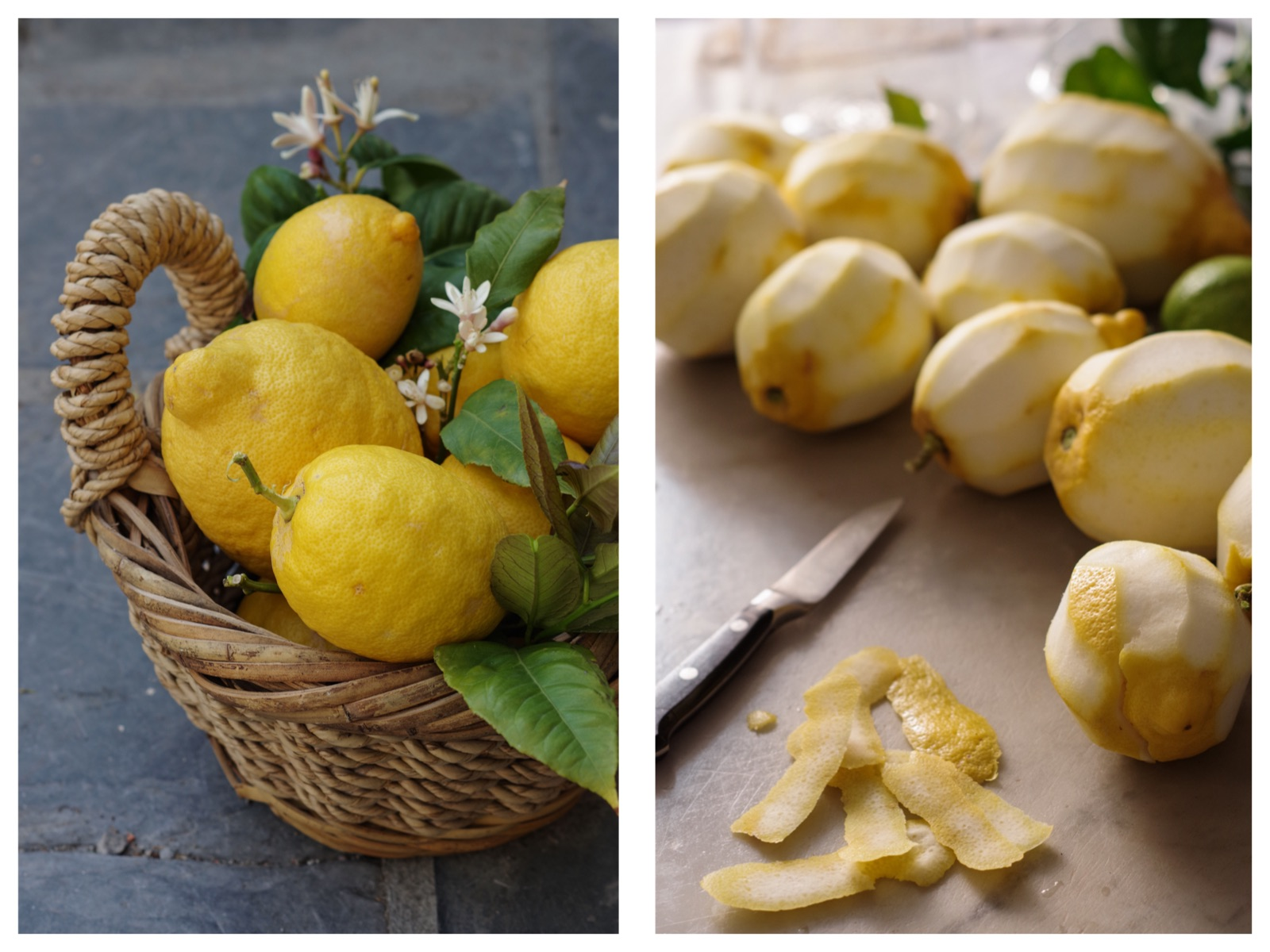 How to make limoncello recipe with Italian Riviera lemons