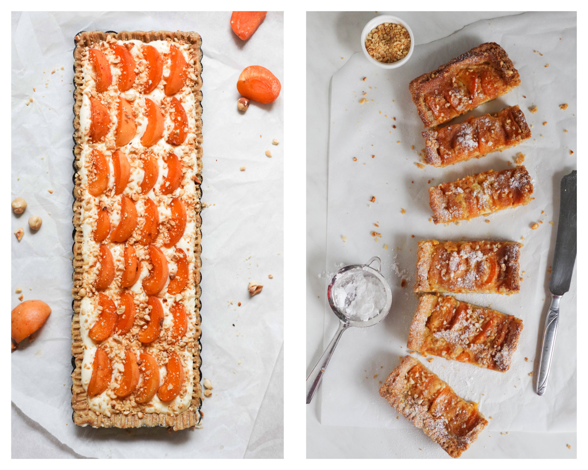 Valleggia apricots, my granny\'s jam and Wally\'s apricot tart, more ...