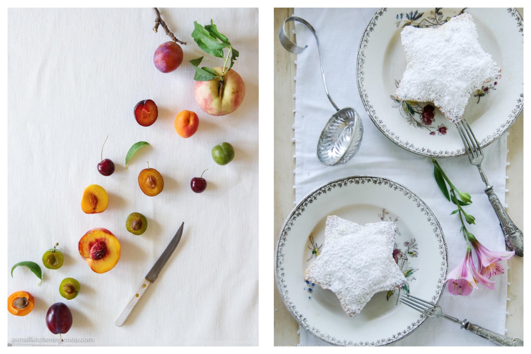 italian riviera summer fruit pie