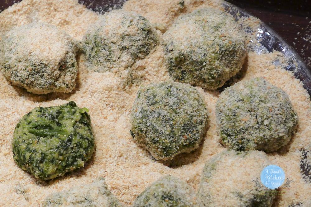 spinach balls preparation