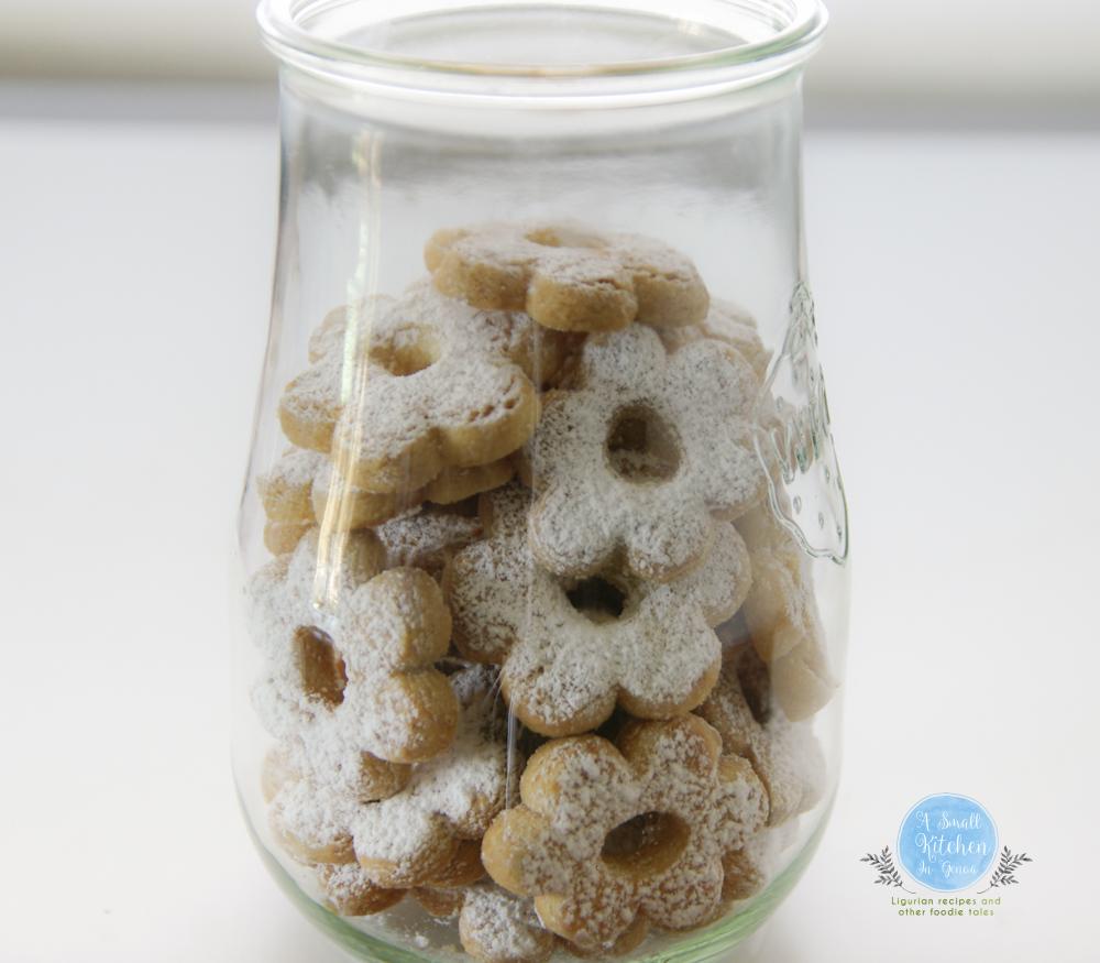 canestrelli di Torriglia in the jar