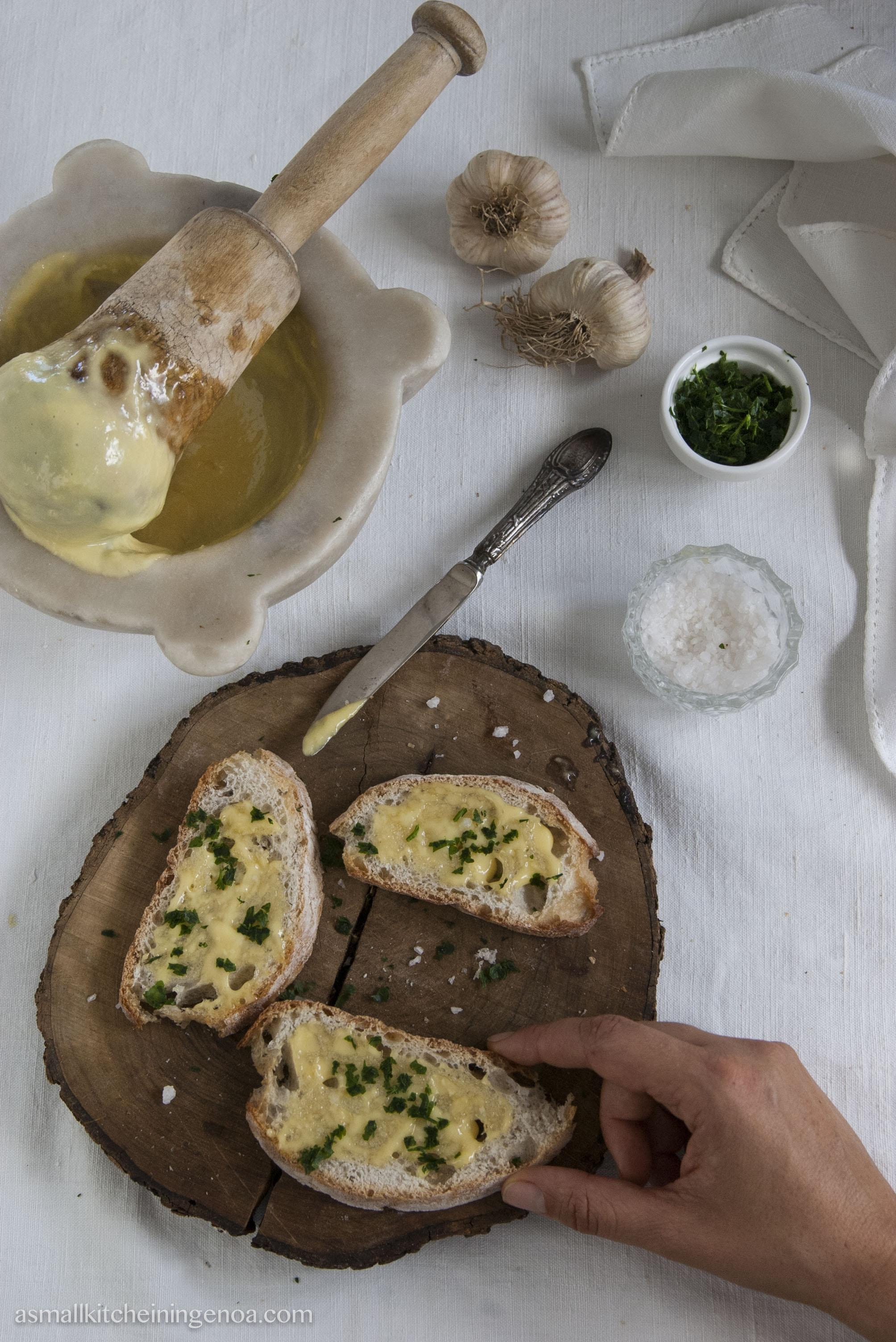 Aiè garlic mayo