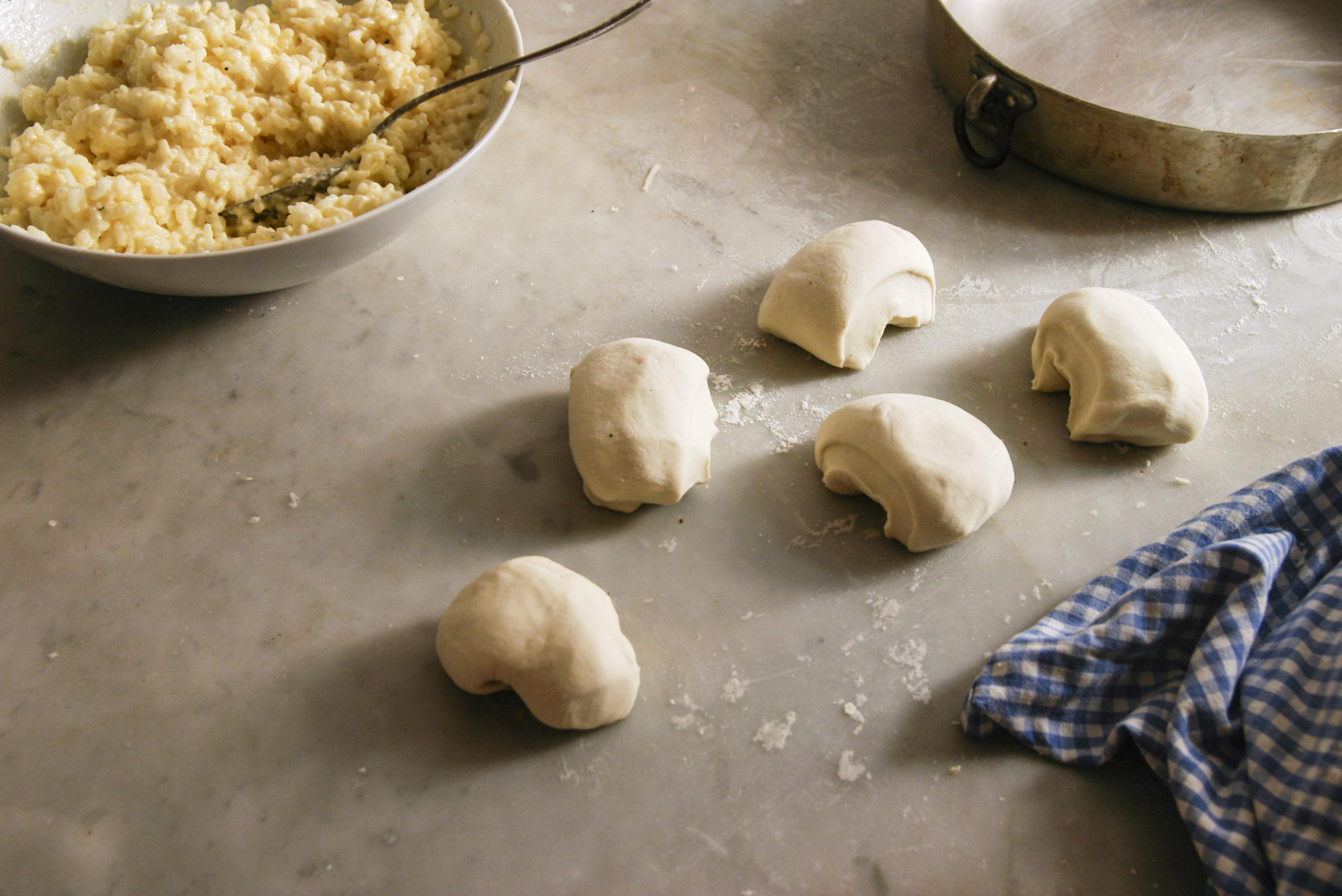 rice savory pie dough