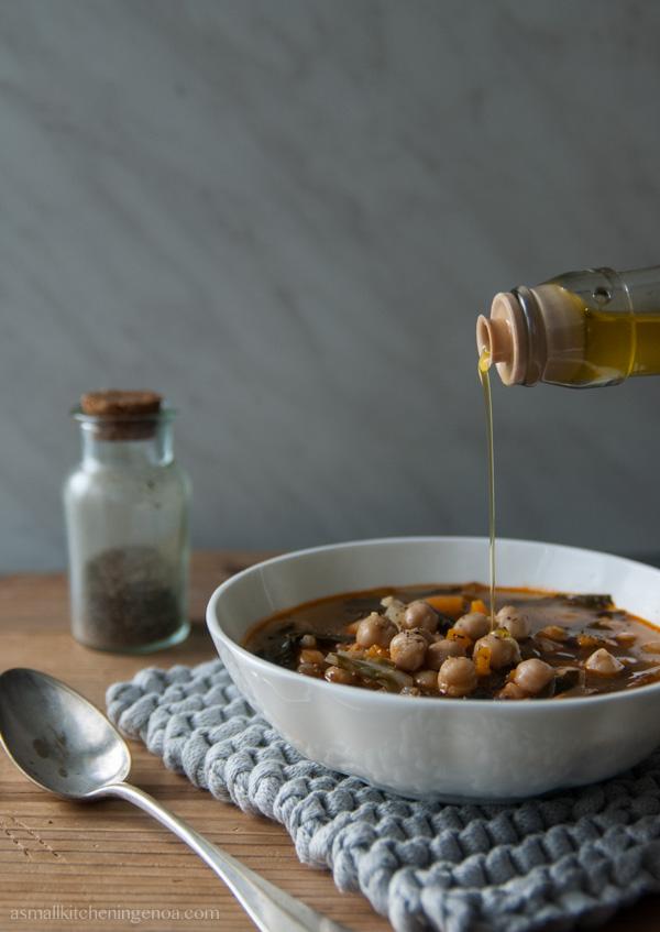 zemin di ceci, la zuppa di ceci ligure