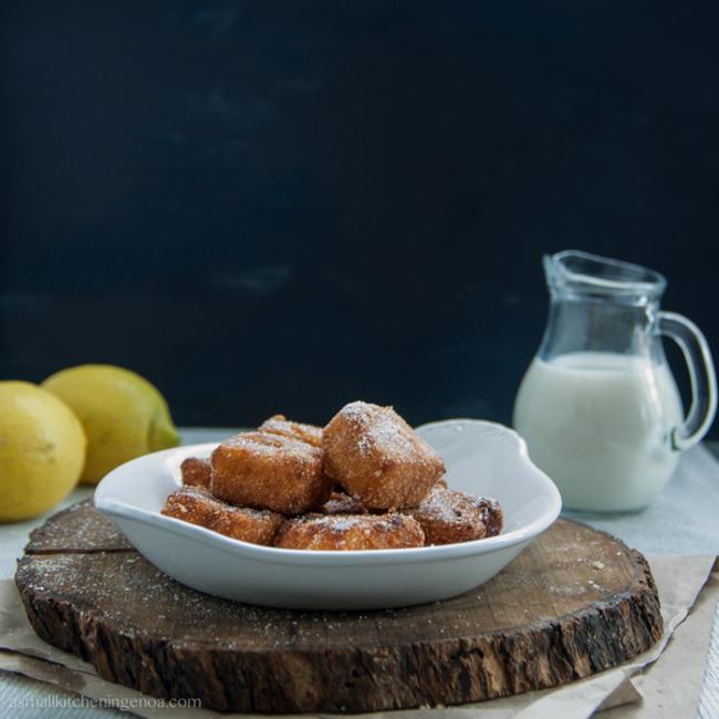Latte dolce fritto, il dolce perfetto per far felici i bambini