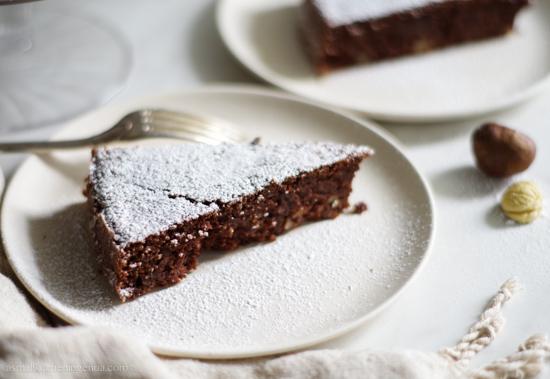 chestnuts cake gluten free