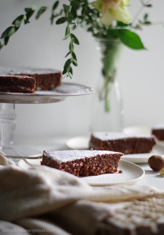 torta di castagne senza glutine