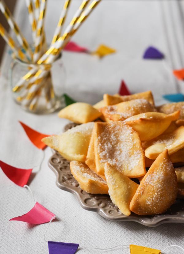 Italian Carnival sweet fritters