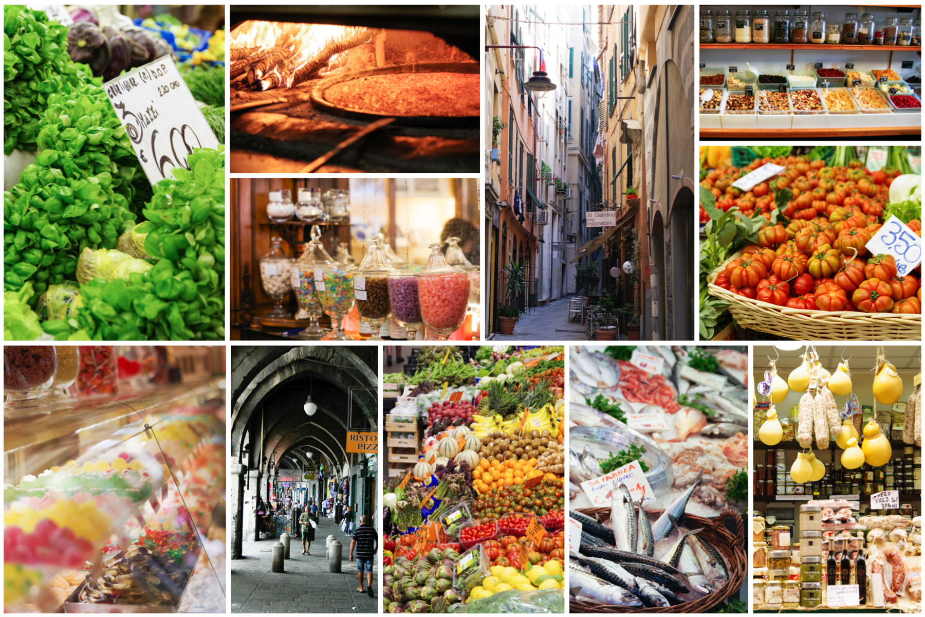 Genoa food tour: a morning stroll though the food shops of Genoa
