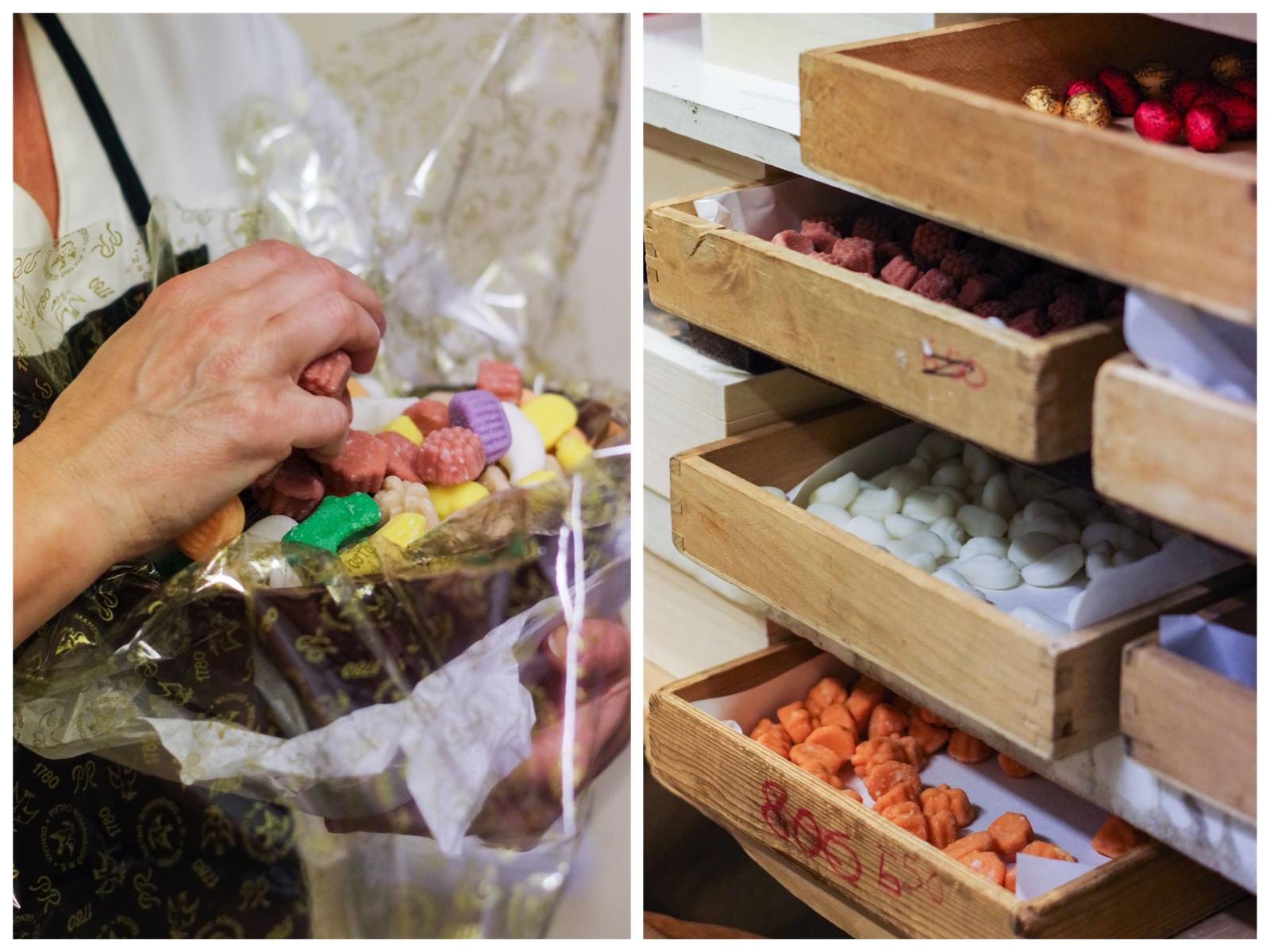 Pasqua da Romanengo: la riempitura delle uova di Pasqua con gli zuccherini _ asmallkitcheningenoa