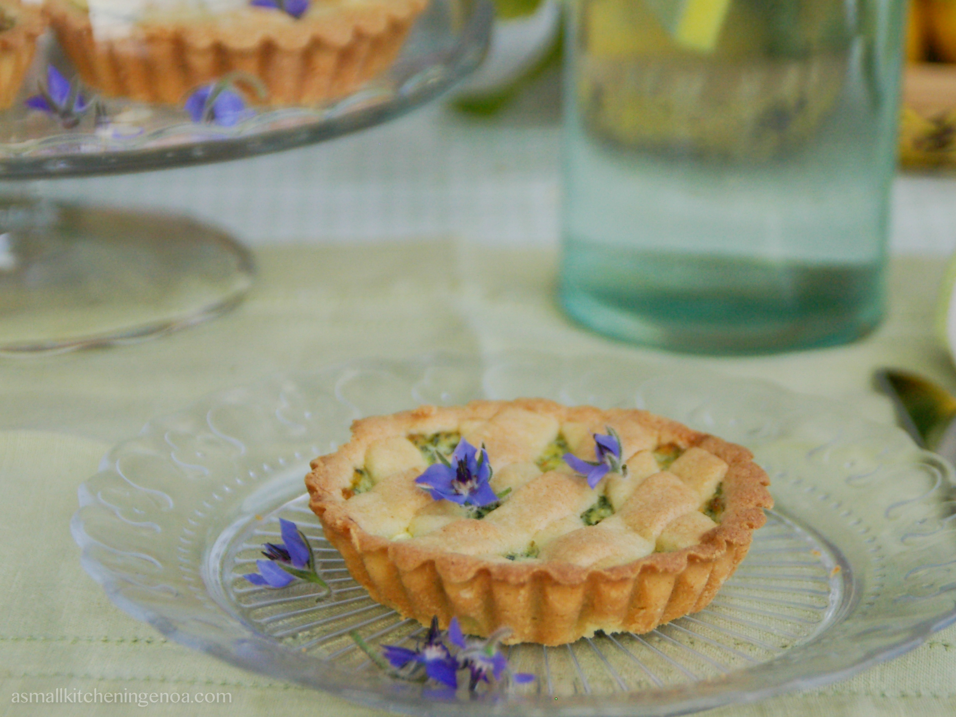borages tartlets_ asmallkitcheningenoa