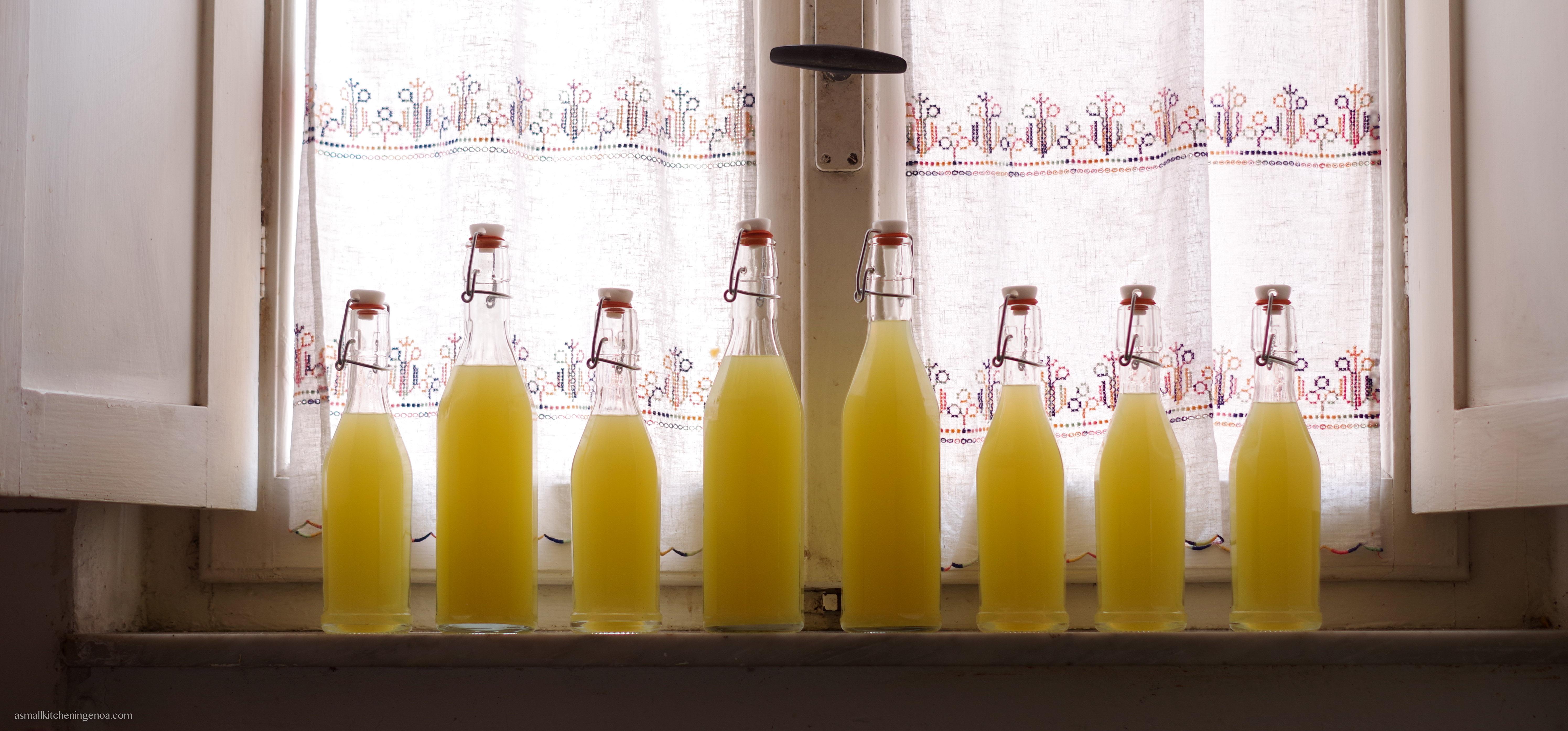 limoncello recipe: done.