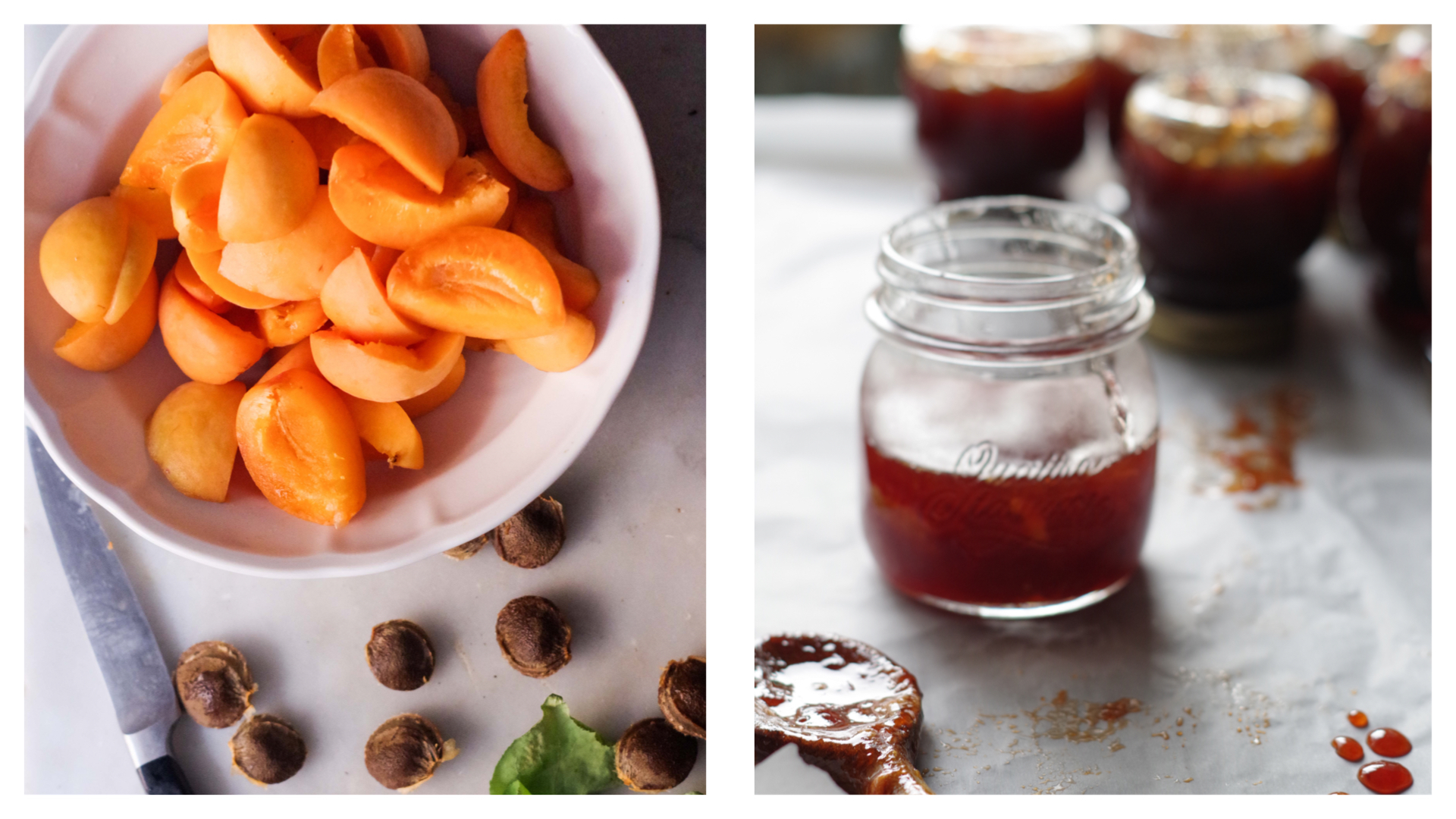Valleggia apricots jam