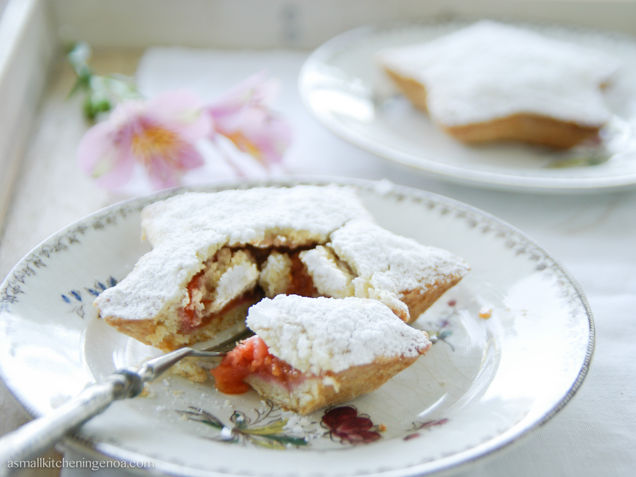 italian riviera summer fruit pie