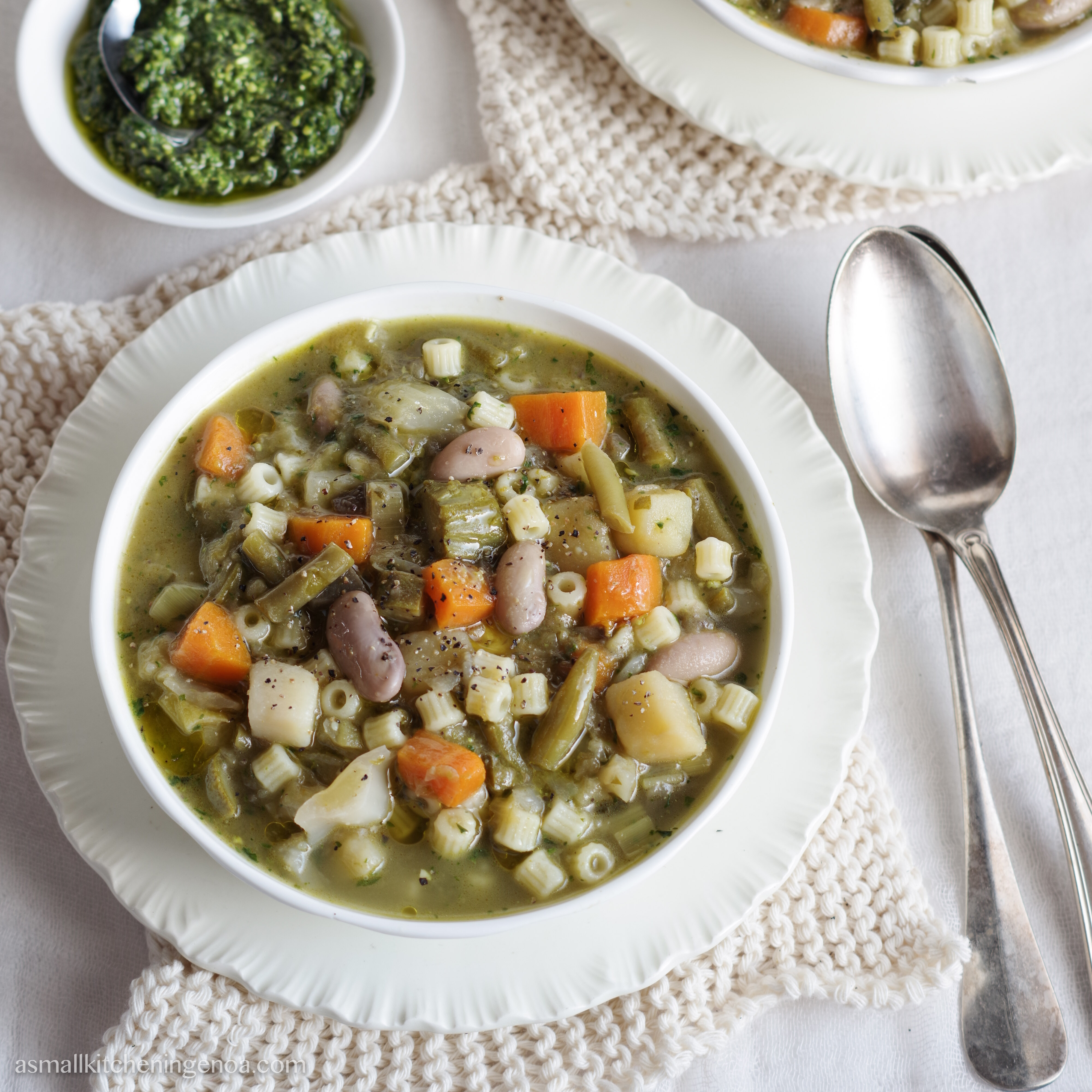 Genoese minestrone soup
