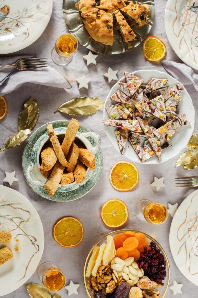 Genoa Christmas menu