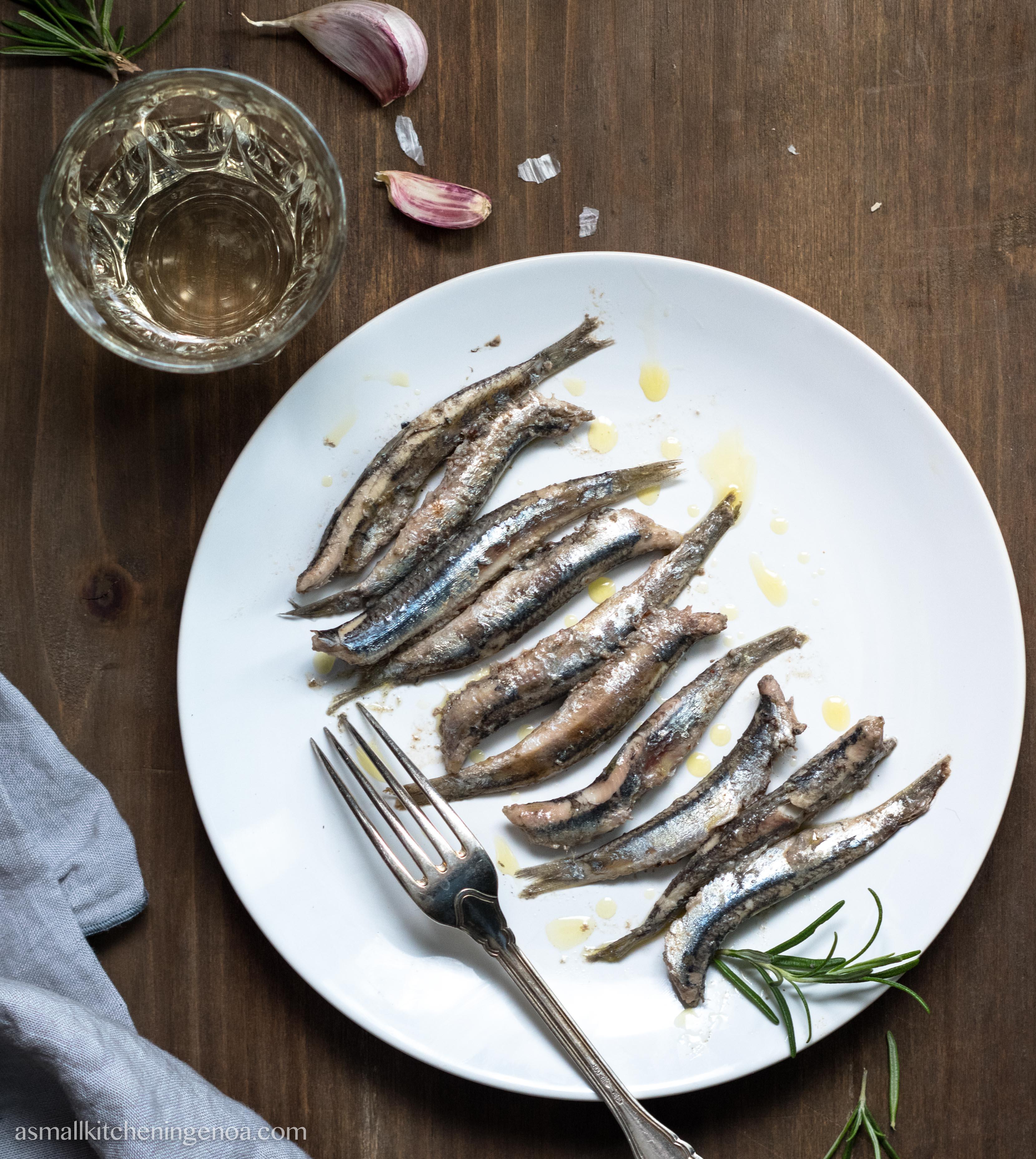 anchovies cacciatore