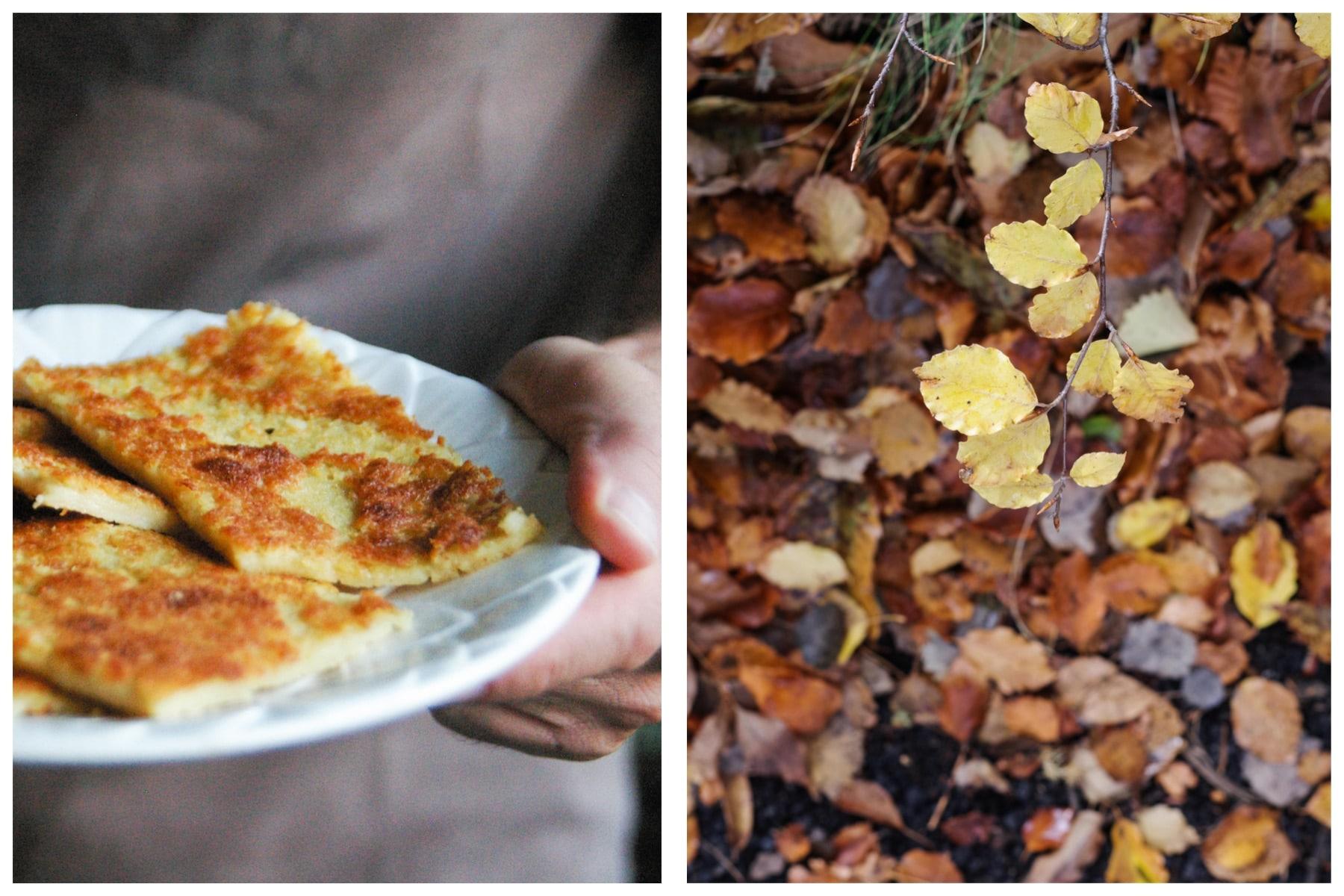 farinata: Genoa chickpea tart