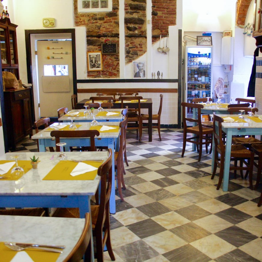seafood restaurant in Genoa