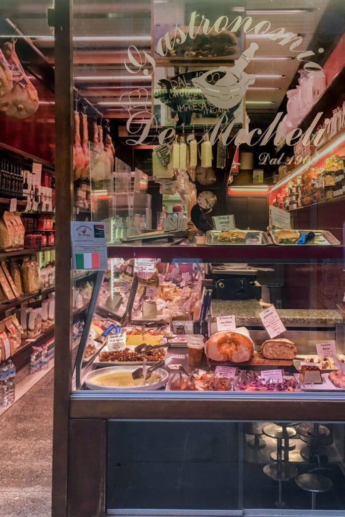 genoa deli and food shops