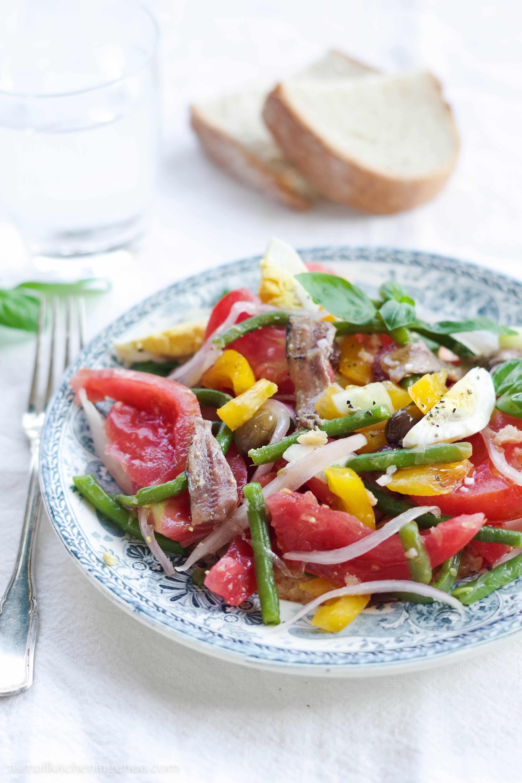 Cundigiun: the Italian Riviera tomato salad