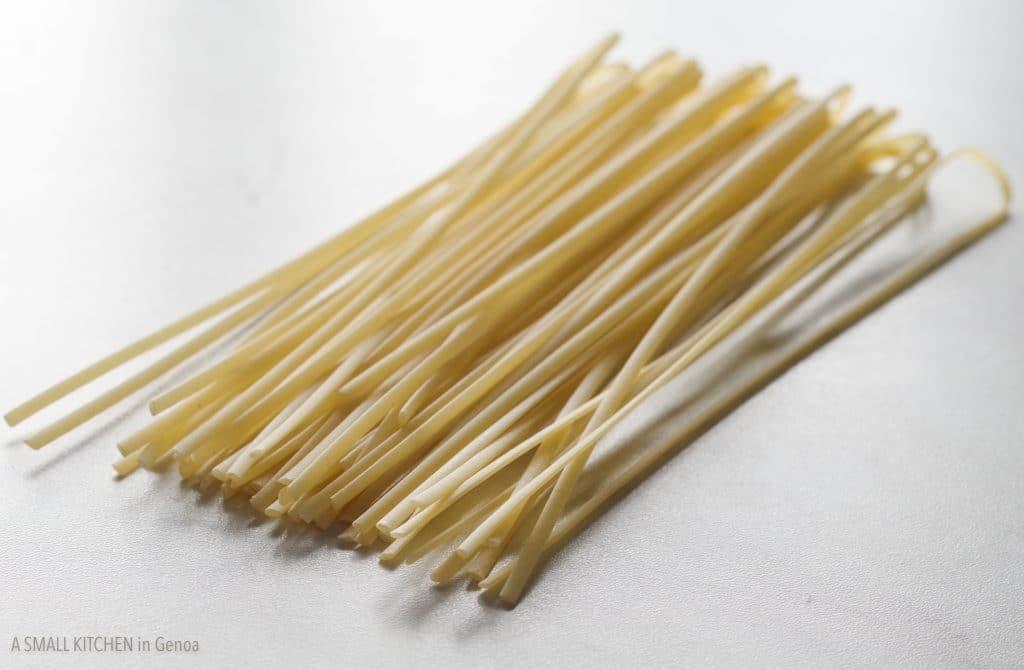 trenette Italian Riviera pasta