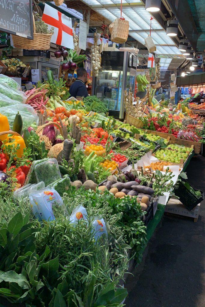 Genoa market food tour with Asmallkitcheningenoa