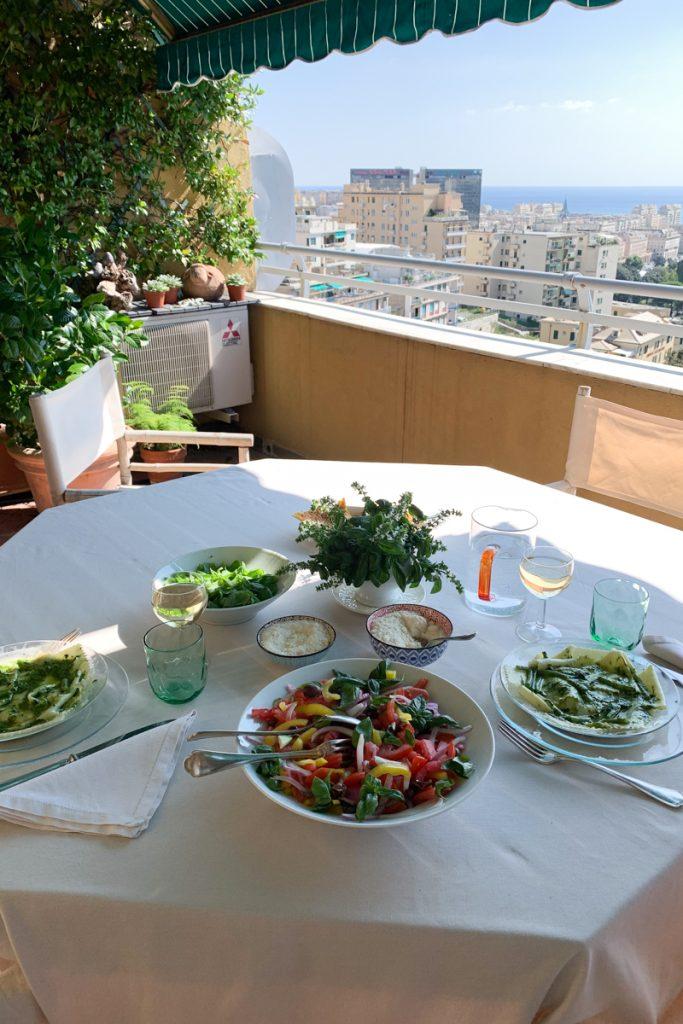Genoa cooking class with Asmallkitcheningenoa