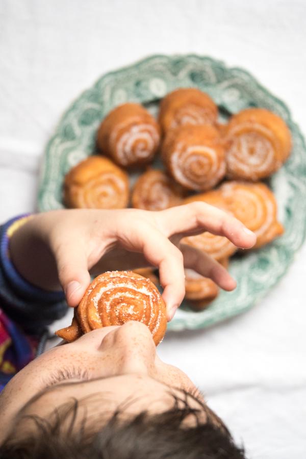 frittelle di San Giuseppe della tradizione ligure