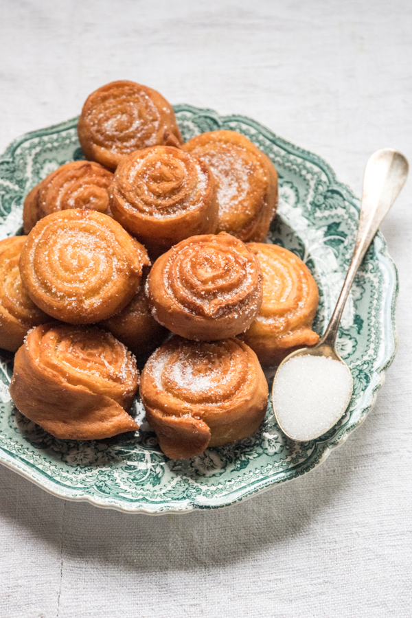 St. Joseph sweet fritters recipe from the Italian Riviera