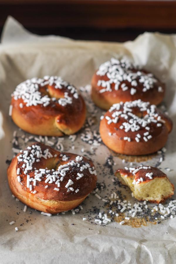 Italian Rivera Easter donuts