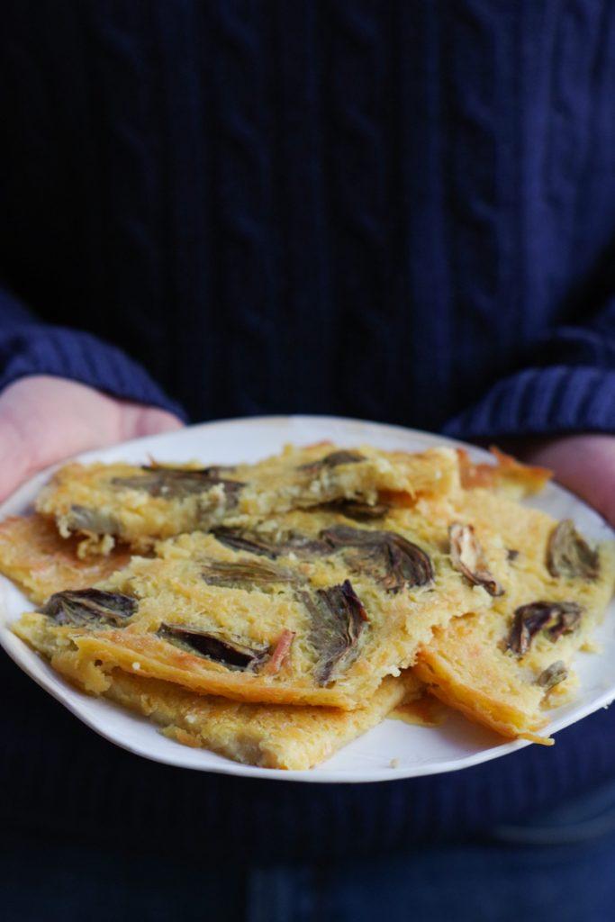 Farinata: the traditional Italian Riviera chickpea tart