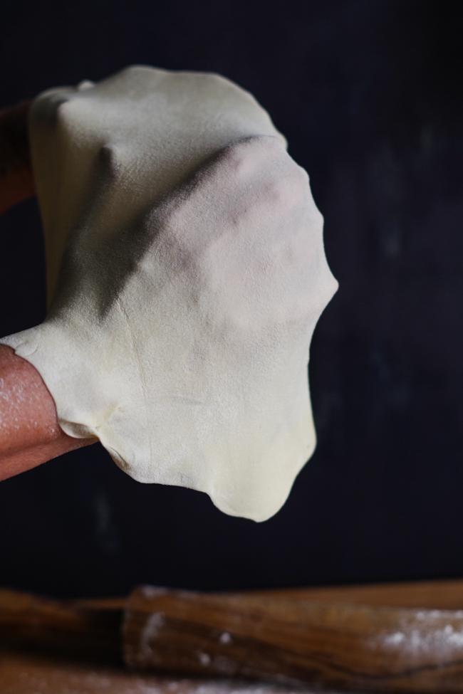 Torta Pasqualina di carciofi genovese