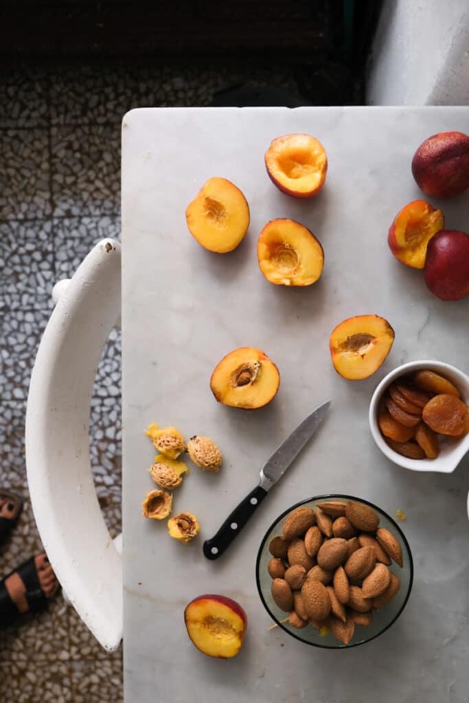Liguria stuffed peaches_ pesche ripiene
