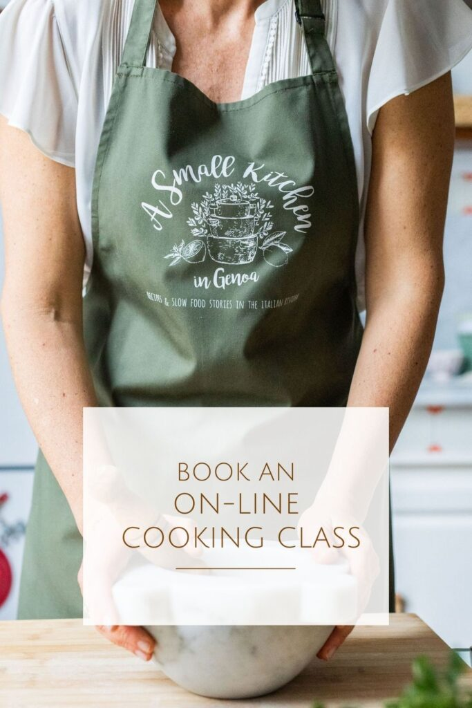 Liguria on-line cooking classes
