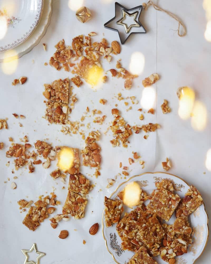 almond crunchy nugat