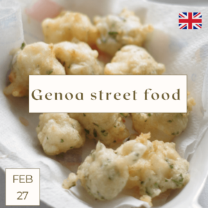 Genoa street food cooking class