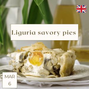 liguria torta pasqualina cooking class