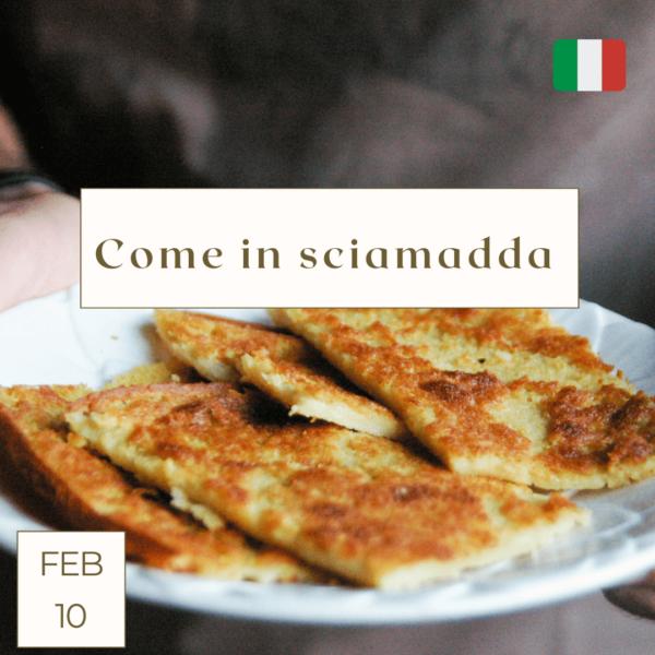 Genova street food e farina corso di cucina online