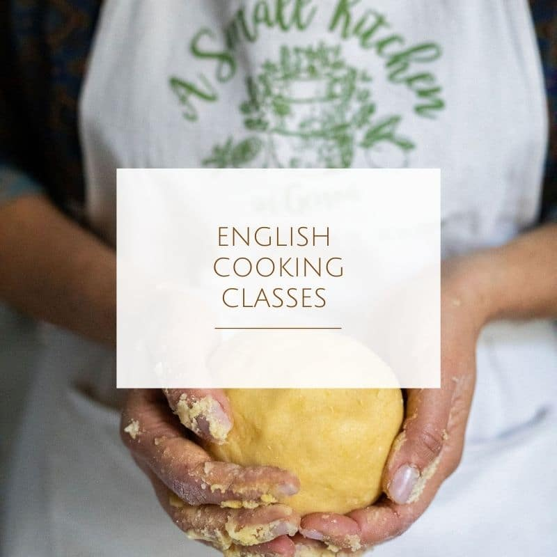 English Cooking classes