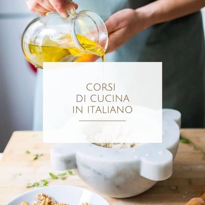 Corsi di cucina in italiano