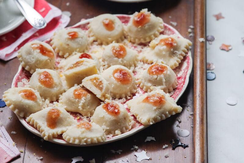 ravioli dolci Liguri