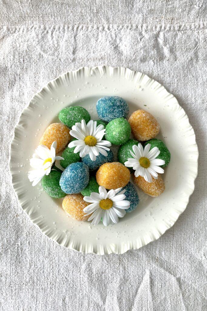 Quaresimali, the traditional Liguria marzipan sweets for Easter
