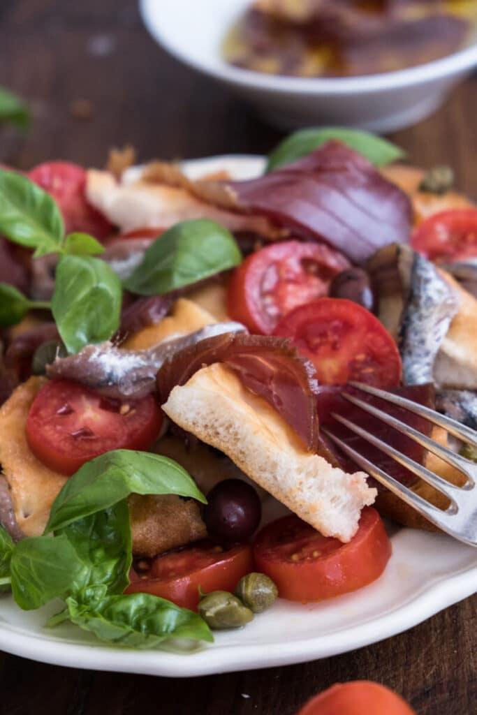 Capponada - the Liguria sailors salsad
