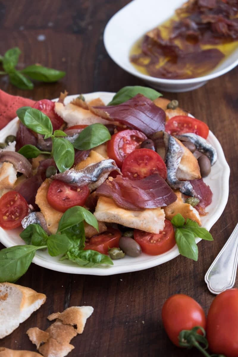 Capponada, the Ligurian sailors' salad.