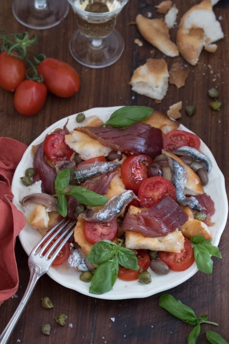 Capponada o Capponadda, l'insalata dei marinai liguri